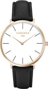 Czarny zegarek chronos