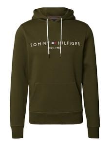 Zielona bluza Tommy Hilfiger z bawełny w młodzieżowym stylu