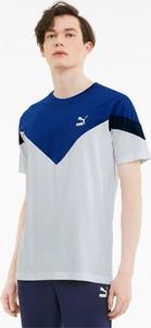 T-shirt Puma w sportowym stylu z krótkim rękawem z bawełny