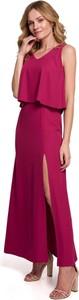 Czerwona sukienka Merg maxi