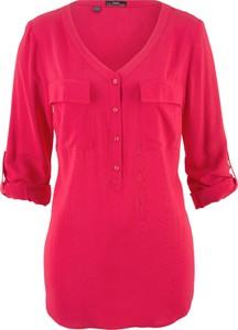 Różowa bluzka bonprix bpc bonprix collection