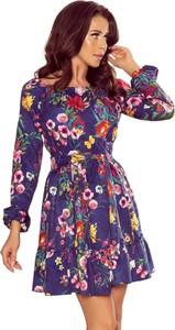 Sukienka Moda Dla Ciebie z długim rękawem mini
