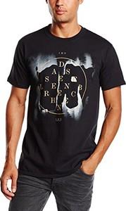 Czarny t-shirt plastichead