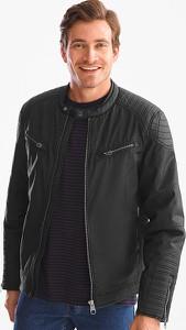 Czarna kurtka CANDA z bawełny