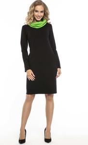 2ad1d1b24c sukienka czarna rozmiar 48 - stylowo i modnie z Allani