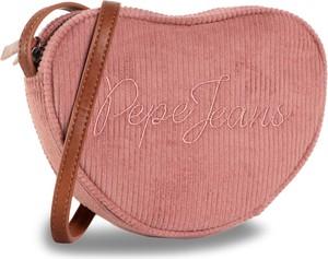 Różowa torebka eobuwie.pl średnia na ramię