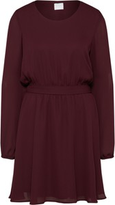 Czerwona sukienka Vila mini
