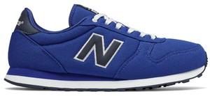 Buty sportowe New Balance sznurowane w młodzieżowym stylu