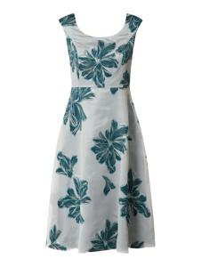 Sukienka Vera Mont mini z żakardu bez rękawów