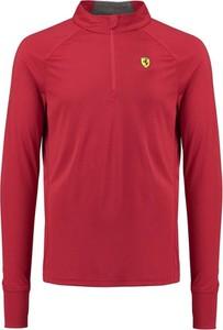 Różowa bluza Scuderia Ferrari F1 z tkaniny