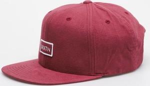 Czerwona czapka Brixton