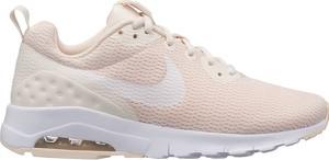 Buty sportowe Nike motion w street stylu sznurowane