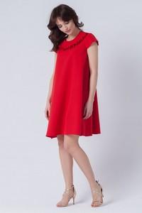527b1e6da9 Sukienka butik-choice.pl z okrągłym dekoltem