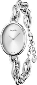 CALVIN KLEIN Statement Silver Dial CK K9Y23126