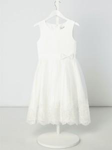 656ee0529a Sukienka dziewczęca Eisend z tiulu w kwiatki