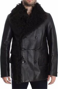 Czarna kurtka Dolce & Gabbana z bawełny