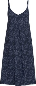 Niebieska sukienka bonprix John Baner JEANSWEAR