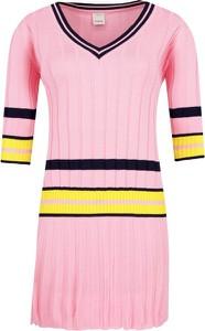 Sukienka Pinko z długim rękawem prosta