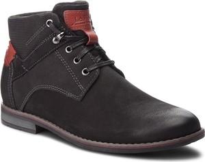 Buty zimowe Lasocki For Men z nubuku sznurowane