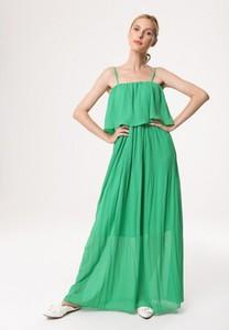 Sukienka born2be w stylu casual maxi na ramiączkach