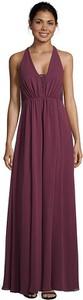 Fioletowa sukienka Vera Mont maxi na ramiączkach z dekoltem w kształcie litery v