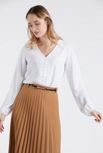 Bluzka Monnari z długim rękawem z dekoltem w kształcie litery v