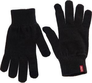 Czarne rękawiczki Levis