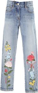 Niebieskie spodnie dziecięce Monnalisa