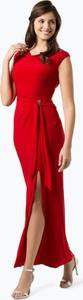 Czerwona sukienka Lauren Ralph Lauren