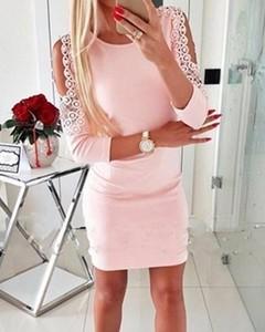 Sukienka Kendallme mini z okrągłym dekoltem