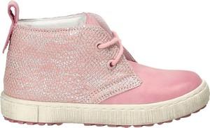 Różowe buty dziecięce zimowe EMEL