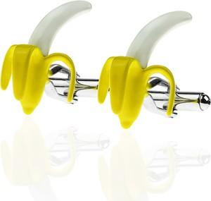Em Men`s Accessories Spinki do mankietów tematyczne banany EM 47
