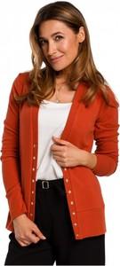 Czerwony sweter Style z bawełny