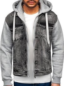 Kurtka Denley w młodzieżowym stylu z jeansu