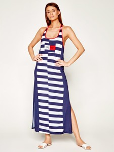 Sukienka Tommy Hilfiger w stylu casual prosta maxi