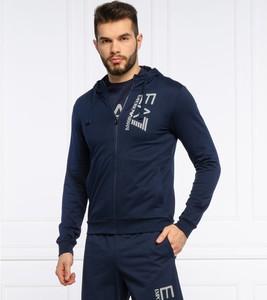 Niebieska bluza Emporio Armani z bawełny