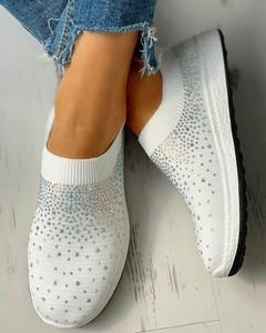 Buty sportowe Kendallme z płaską podeszwą