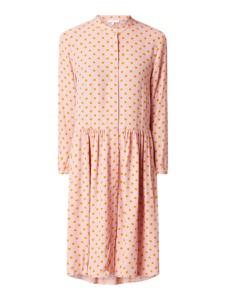 Różowa sukienka Jake*s Casual w stylu casual koszulowa mini