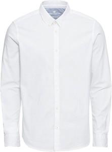 Koszula Tom Tailor z bawełny z klasycznym kołnierzykiem
