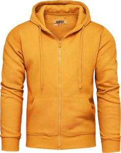 Żółta bluza Recea w młodzieżowym stylu z bawełny