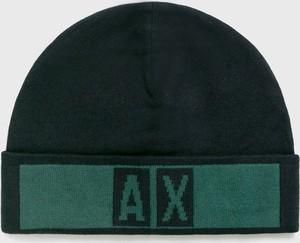 Zielona czapka Armani Jeans