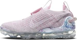 Różowe buty sportowe Nike vapormax