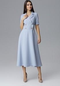 Sukienka Figl z kołnierzykiem