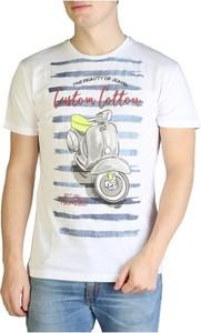 T-shirt Yes Zee z krótkim rękawem w młodzieżowym stylu