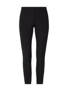 Czarne spodnie Cambio w młodzieżowym stylu z dresówki