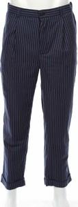 Granatowe spodnie Bellfield