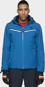 Niebieska kurtka 4F krótka