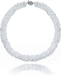 POLSKA Elegancki ślubny naszyjnik w stylu Glamour