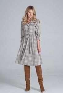 Sukienka Figl w stylu casual z długim rękawem