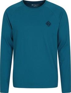 Niebieska bluza Mountain Warehouse w stylu casual z tkaniny